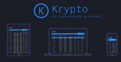Krypto – Angular Crypto Currency Tracker