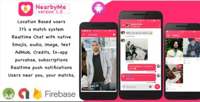 NearbyMe – Android Source Code