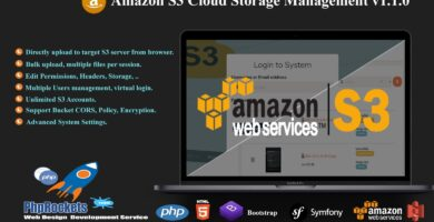 Amazon S3 Cloud Storage Management Script