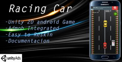 Racing Car With Admob – Full Unity Project