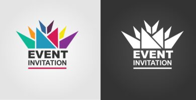 Event Invitation logo Template