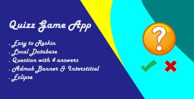 Quiz Game App – Android Source Code