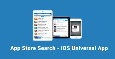App Store Search – iOS App Source Code