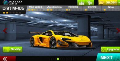 Racing Game Graphics CxS – GUI Skin 5