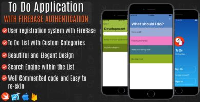 To Do Application With Firebase – iOS Source Code