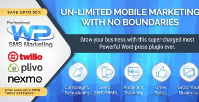 Professional WordPress SMS Marketing Plugin