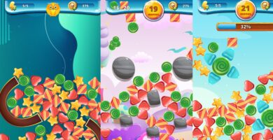 Sweety Shapes – Match-3 Unity Source Code