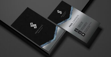 High-End Metal Business Card