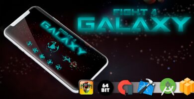 Fight 4 Galaxy – Buildbox Template
