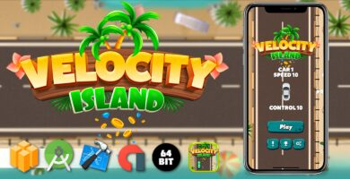 Velocity Island – Buildbox Template