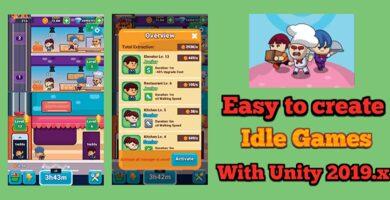 Idle Restaurant – Unity Source Code