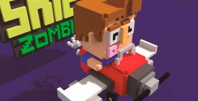 Shooty Skies Zombies 3D Game Assets