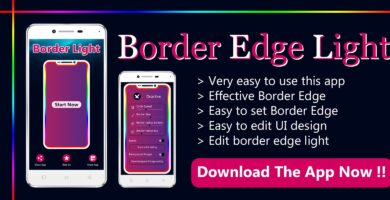 Edge Border light – Android App Template