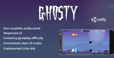 Ghosty – Complete Unity Game