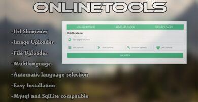 Online Tools – Shortener Uploader Downloader PHP