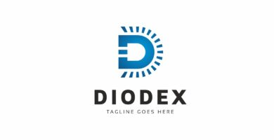 Diodex Led Logo Template