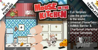 Mouse in the Kitchen – Buildbox Template
