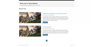 Team Builder – Gaming Clan And Team Management