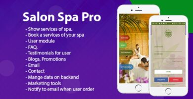 Salon Spa Pro – Android Template