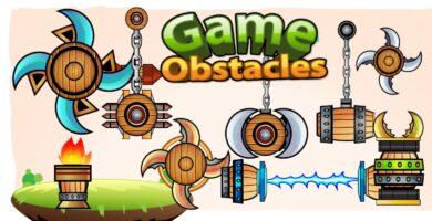 2D Game Obstacles Sprites