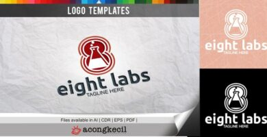 Eight Labs – Logo Template