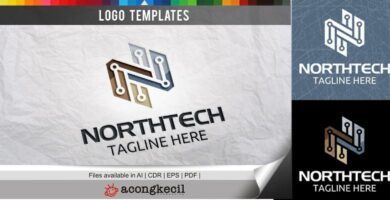 North Tech – Logo Template