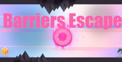 Barriers Escape – Buildbox Game Template