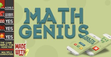 Math Genius – Buildbox Game Template
