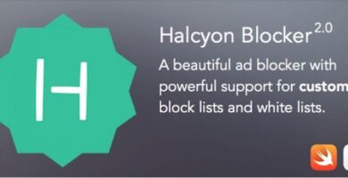 Halcyon Ad Blocker – iOS App Source Code